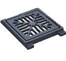 Дождеприемник-обрамление чугунный 260x260 (квадратный)