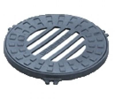 Дождеприемник-обрамление чугунный D380 (круглый)