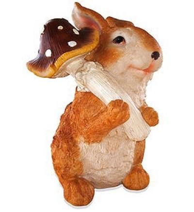 Заяц с мухомором (3.107)