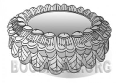 Ваза лепестковая (1.10)