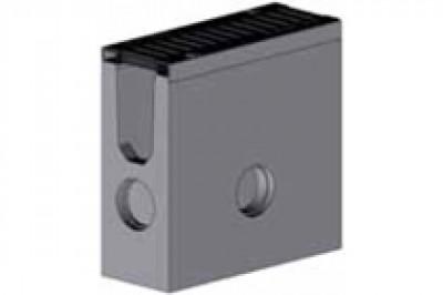 Комплект: Пескоуловитель SUPER - 11.20.49 - бетонный с решеткой щелевой чугунной ВЧ-50, кл.D или кл.E