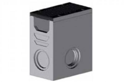 Комплект: Пескоуловитель SUPER - 20.30.60 - бетонный с решеткой щелевой чугунной ВЧ-50, кл.D или кл.E