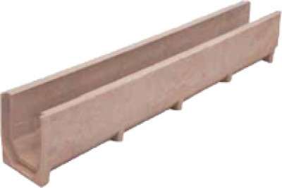 Лоток водоотводный - 10.14.13 - полимерпесчаный