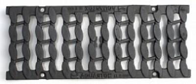 Решетка чугунная DN150 Е600 «Косичка»
