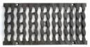 Решетка чугунная DN200 Е600 «Косичка»