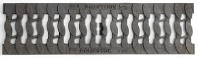 Решетка чугунная косичка DN 100 С250+