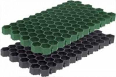 Решетка газонная -70.40.3,2- пластиковая зеленая (черная)