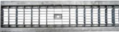 Решетка водоприемная - 10.13,6.100 - ячеистая стальная оцинкованная