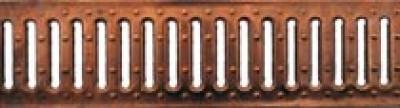 Решетка водоприемная - 10.13,6.100 - штампованная медная
