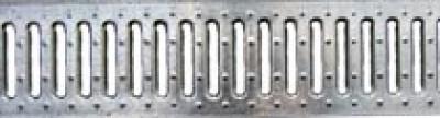 Решетка водоприемная - 10.13,6.100 - штампованная стальная оцинкованная