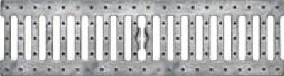Решетка водоприемная - 10.13,6.50 - щелевая чугунная оцинкованная, кл.С