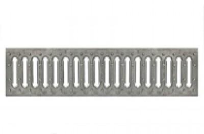 Решетка водоприемная - 10.13,6.50 - штампованная стальная оцинкованная
