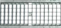 Решетка водоприемная - 20.24.100 - ячеистая стальная оцинкованная