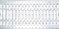 Решетка водоприемная - 20.24.100 - штампованная стальная оцинкованная
