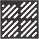 Решетка водоприемная к дождеприемнику 28,5x28,5 чугунная