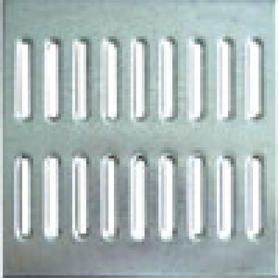 Решетка водоприемная к дождеприемнику 28,5x28,5 штампованная стальная оцинкованная